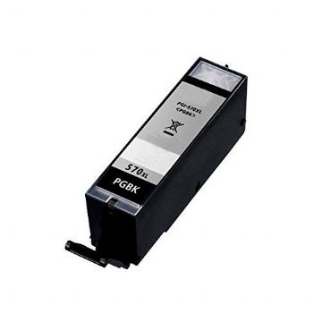 Canon Refurbished High Capacity Black Canon PGI-570PGBKXL Ink Cartridge - (PGI570PGBKXL)